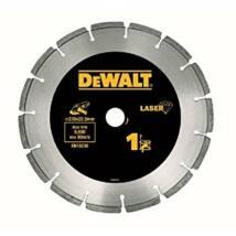 DeWalt Lézerrel hegesztett száraz gyémántszemcsés vágótárcsa DT3743-XJ