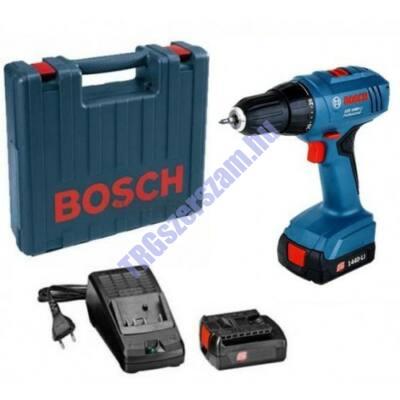 Bosch GSR 1440-Li akkus fúró-csavarozó +Ajándék Bitkészlet 06019A8405