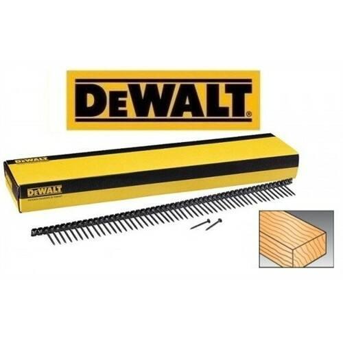 Dewalt DW PH2 3, 5x35mm gipszkarton csavar tárazott - nagy menetemelkedésű - fához (1000db/dbz) (DWF4100350)