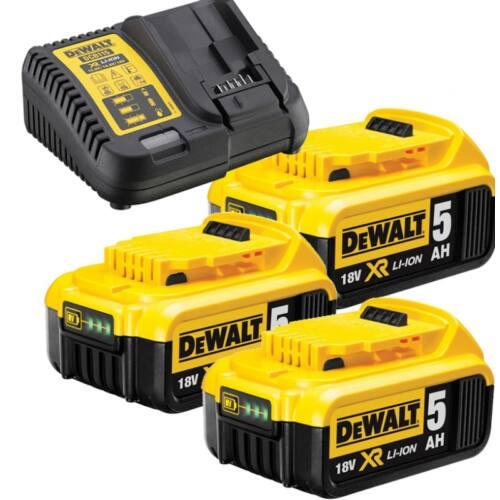 DeWalt  Akku pakk 3x 5Ah XR 18V DCB115P3-QW
