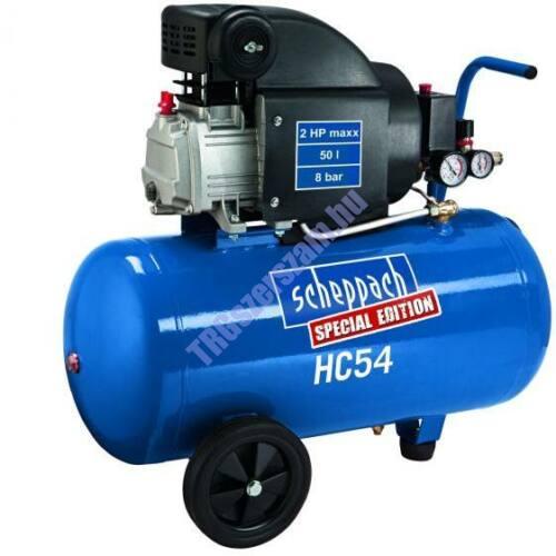 Scheppach HC 54 - olajkenésű kompresszor