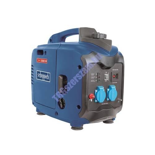 Scheppach SG 2000 - 2000 w-os inverteres áramfejlesztő