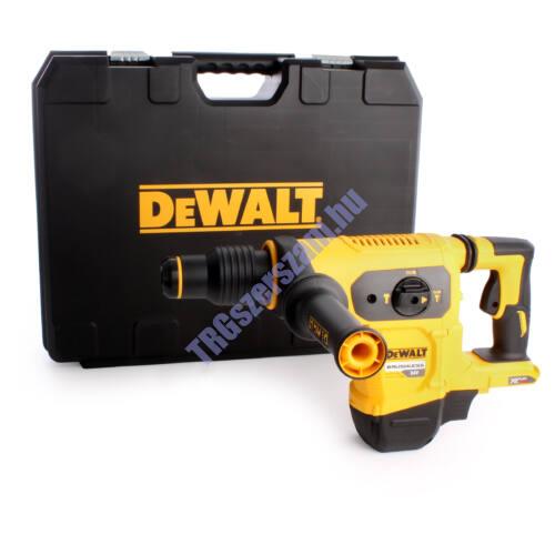 DEWALT 54V XR FLEXVOLT kefe nélküli 3 üzemmódú SDS-MAX fúrókalapács akku és töltő nélkül DCH481N-XJ