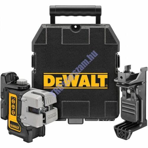 DeWalt önbeálló keresztszálas vonallézer DW089K-XJ