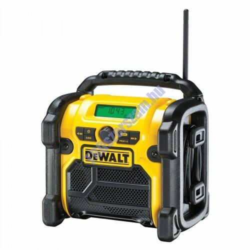 DeWalt kompakt AM/FM rádió DCR019-QW