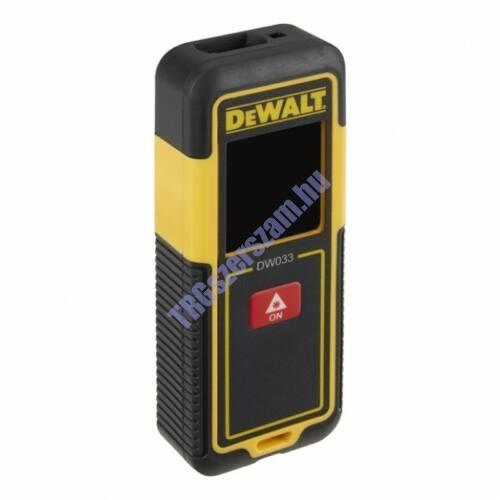 DEWALT Távolságmérő Lézer 30m DW033-XJ
