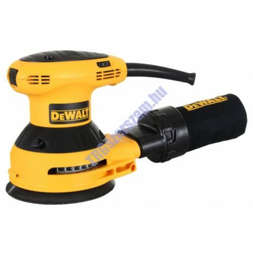 DeWalt EXCENTER CSISZOLÓ 125 MM-ES DWE6423-QS