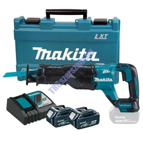 Makita 18V LXT Li-ion BL orrfűrész 2x5,0Ah DJR187RTE