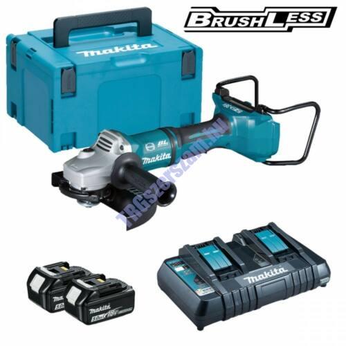 Makita 2x18V LXT Li-ion BL 230mm sarokcsiszoló 2x5,0Ah+DT DGA900PT2