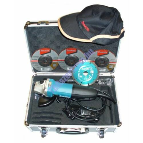 Makita sarokcsiszoló fém kofferben GA5030RSP3