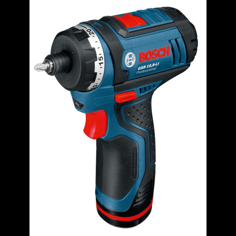 Bosch GSR 10,8 V-Li akkus fúró/csavarozó 0601992906