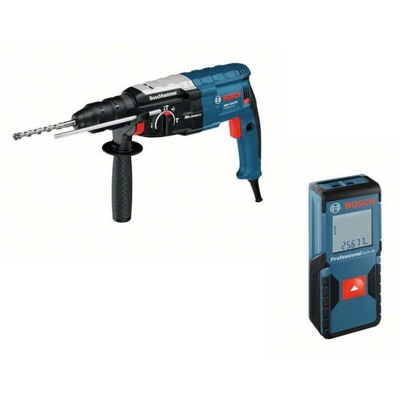 Bosch SDS Plus fúrókalapács GBH 2-28 DFV  + GLM 30 lézeres távolság mérő 0611267208