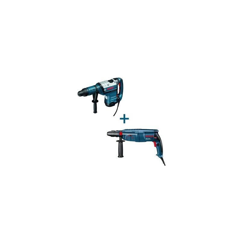 Bosch GBH 8-45 DV fúrókalapács + GBH 2600 fúrókalapács+ koffer 0615990GH9