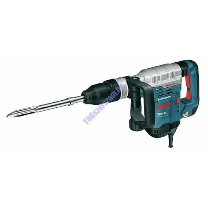 GSH 5 CE vésőkalapács SDS-max-szal kofferben+ Hegyesvéső  0611321000