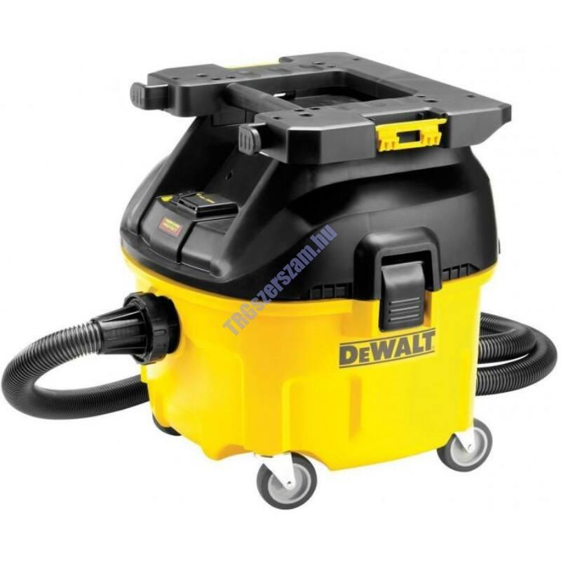 Dewalt Ipari L-osztályú porszívó, 30 liter, 1400W, szűrőtisztító automatikával ,4080l DWV901LT-QS