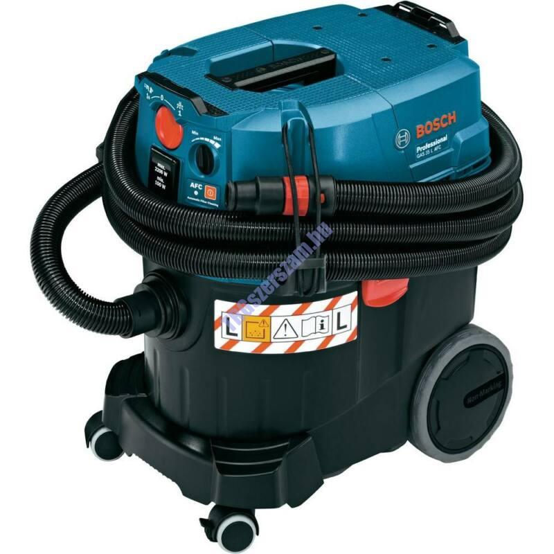 BOSCH GAS 35 L AFC ipari univerzális porszívó automata szűrőtisztítással kartonban 06019C3200