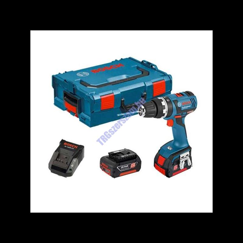 Bosch GSR 14,4-2-LI Plus akkus fúrócsavarozó 2 x 2.0 Ah Kofferban 06019E6020