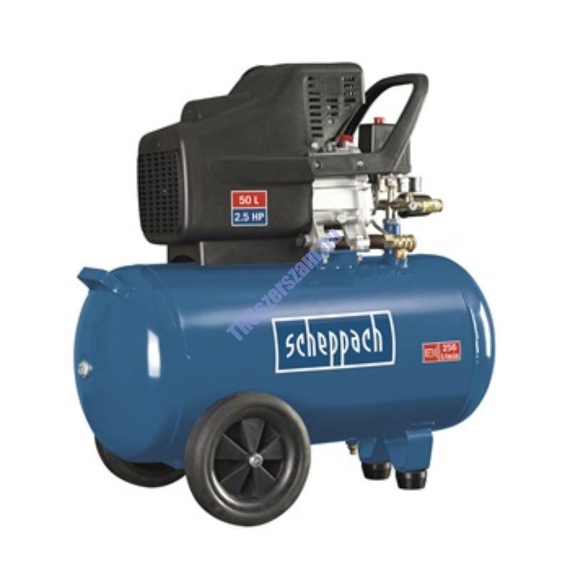 Scheppach HC 51 olajkenésű kompresszor
