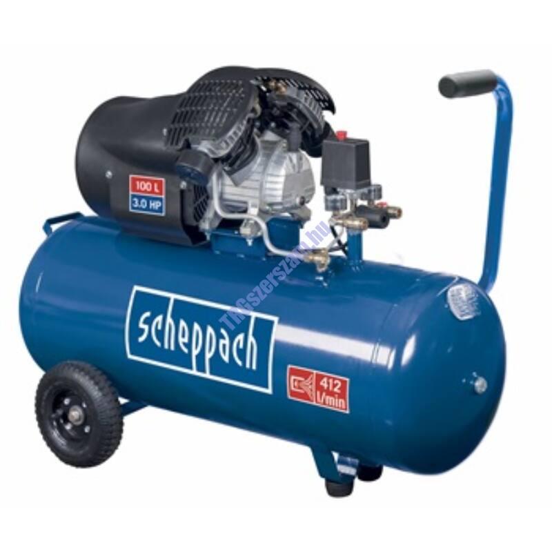 Scheppach HC 100 dc - olajkenésű kompresszor
