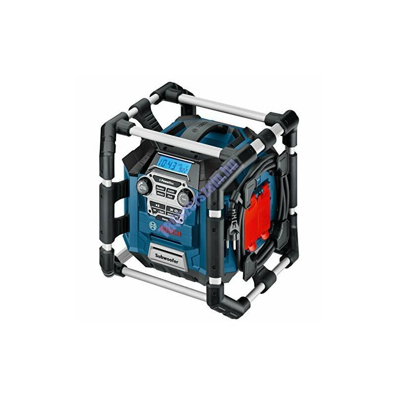 Bosch PowerBox GML 20 Professional Akkus rádió+ 1db Akku 14,4 V, 1,5 Ah  0601429701