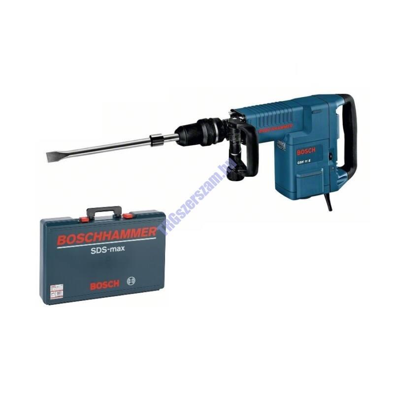 BOSCH GSH 11 E vésőkalapács SDS-max-szal  kofferben 0611316708