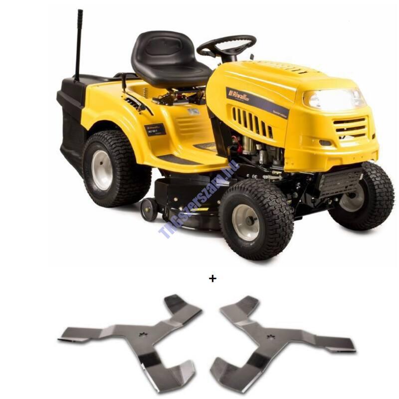Riwall Pro Fűnyíró traktor 92 cm, fűgyűjtővel és hidrosztatikus váltóval RLT 92 H POWER KIT