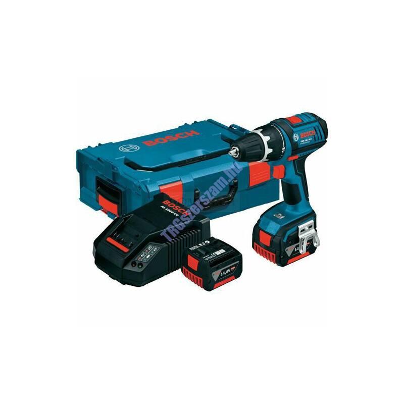Bosch GSR 14,4 V-EC akkus fúrócsavarozó 2x 4,0 Ah L-BOXX-ban 06019E8001