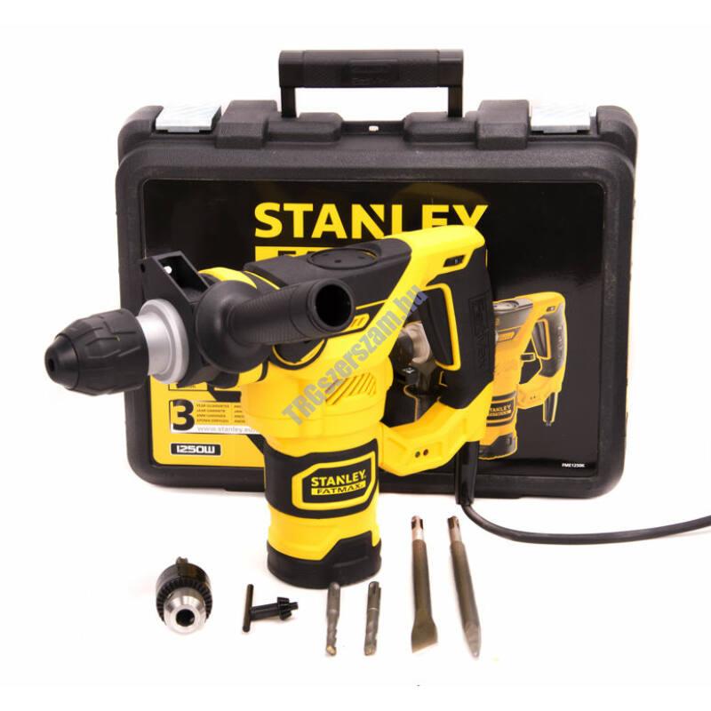 Stanley Fatmax SDS-Plus fúró-vésőkalapács FME1250K-QS 1250W