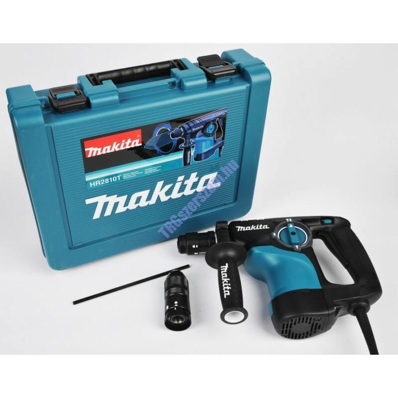 Makita 800W 2,8J SDS-Plus fúró-vésőkalapács cst HR2810T