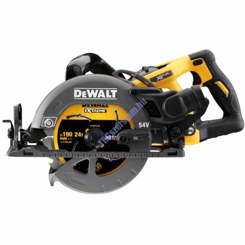 DeWalt DCS577N akkus magas nyomatékú körfűrész (akku és töltő nélkül