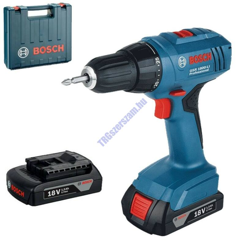 Bosch GSR 1800-Li akkus fúró-csavarozó 06019A8305